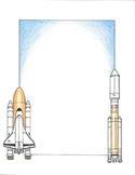 Border - Space Shuttle
