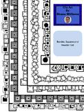 Border, Square, Header Set of 30 images