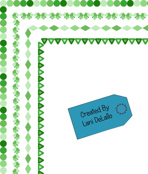 Border- St. Patrick's Day Package