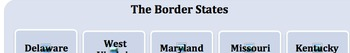 Border States React to Secession