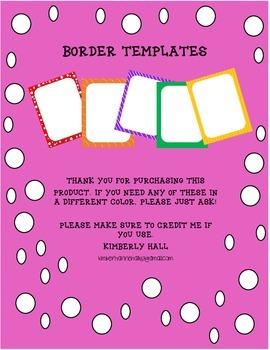 Border Templates