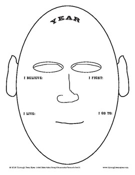 Border Wars Mask Instructions