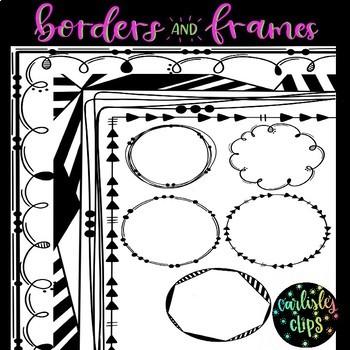 Border and Frame doodles