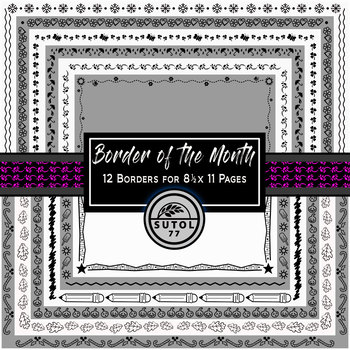 Border of the Month