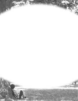 Border-oval format of a reader