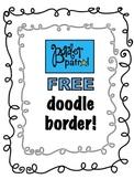 Free Doodle Border!