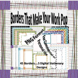 Borders to Make Your Work Pop
