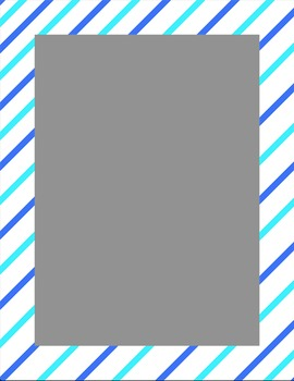 Striped, polka dot, and gradient borders