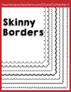 Skinny Borders
