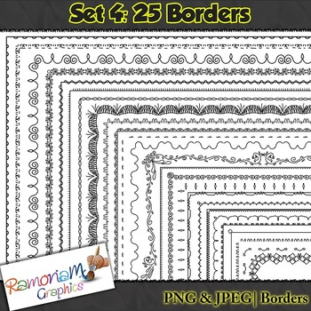 Frames and borders that won't clutter