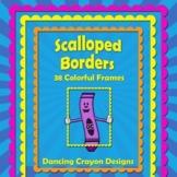 Borders: 38 Scalloped Borders