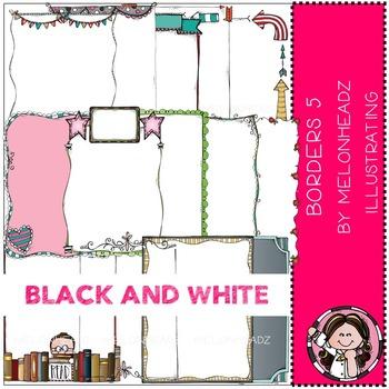 Melonheadz: Borders Part 5 - BLACK AND WHITE