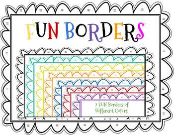 Borders---7 FUN borders