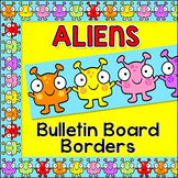 Bulletin Board Borders - Alien Theme