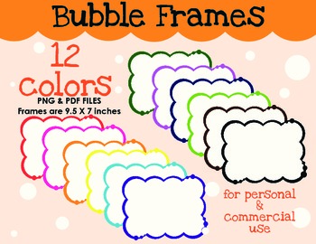 Borders - Bubble Frames