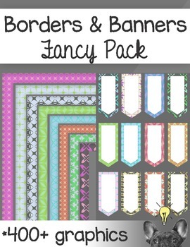 Borders & Banners Fancy Pack