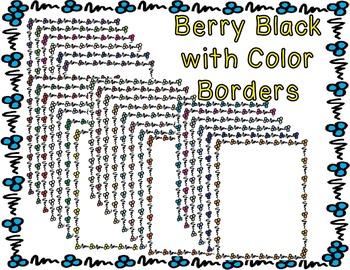 Borders - Berry Bold Beautiful Pack #2