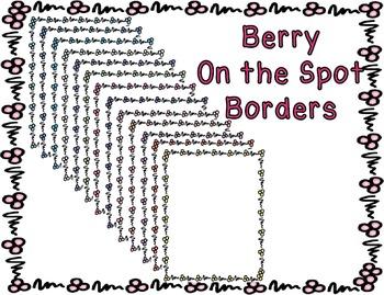 Borders - Berry Bold Beautiful Pack #3