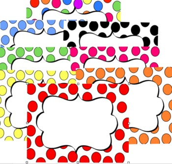 Borders: Big Dots