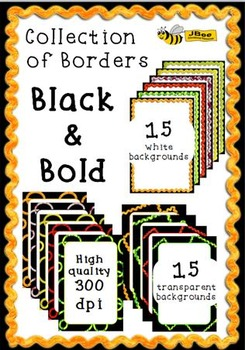 Borders - Black & Bold Collection