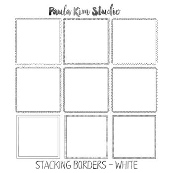 Stacking Borders Clipart