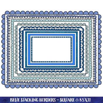 Borders - Blue