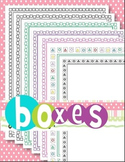 Borders (Boxes & Math Shapes)