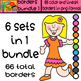 Borders - Bundle # 1 - 6 Sets in 1 / 66 Items - Daily Deal