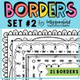 Borders: Doodle Borders Set 2
