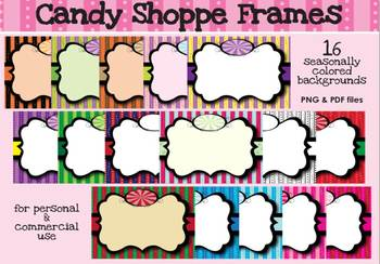 Borders - Candy Shoppe Frames