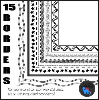 Borders- Clip Art