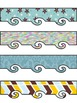 Borders - Clipart - 34 color and black & white - Personal
