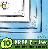 Borders Clipart FREEBIE