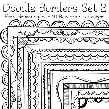 Borders - Doodle Clip Art 02