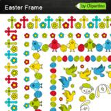 Borders Easter Frame Clip Art