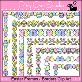 Easter Frames / Borders Clip Art - Page Borders and Frames