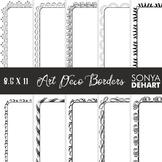 Clip Art: Borders - Elegant Art Deco Page and Cover Border