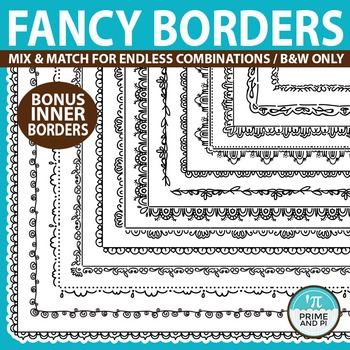 Borders: Customizable Fancy Borders & Frames