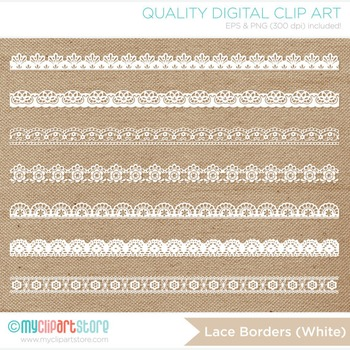 Borders - Fine lace (3 colors)