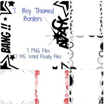 Borders For Boys - Set 1
