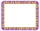 Borders / Frames: ABC Alphabet Border / Frame Clip Art Set