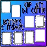 Borders & Frames BW FREEBIE
