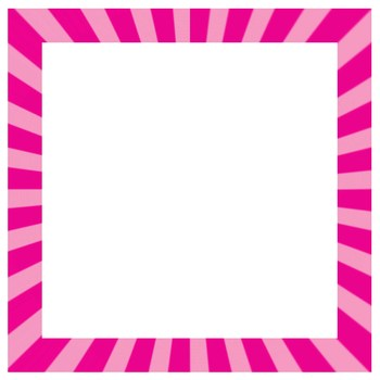 Starburst Borders and Frames Clip Art by Dancing Crayon Designs | TpT