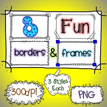 Borders & Frames {Doodling Fun}