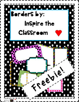 Borders & Frames ~Freebie~
