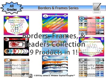 Borders, Frames, Headers Collection