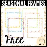 Borders & Frames (Seasonal Colors) Clipart