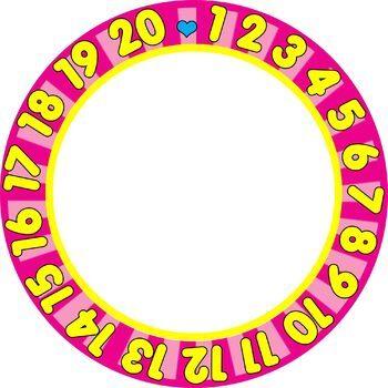 Borders / Frames:123 Numbers Border / Frame Clip Art Set | TpT