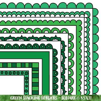Borders - Green