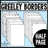 Borders Half Page